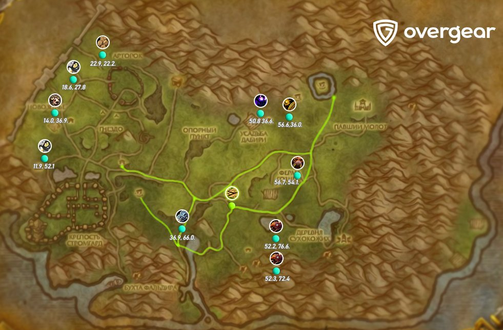 arhati warfront pet drop map