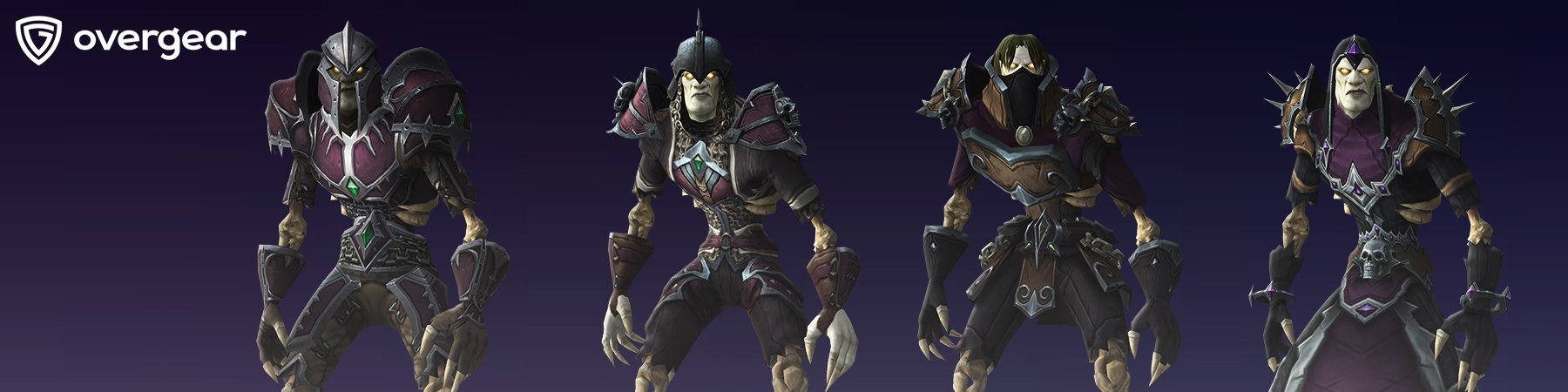 battle for darkshore warfront armor sets