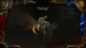Rise of Azshara Bee flights
