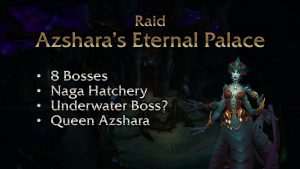 Rise of Azshara Eternal palace info