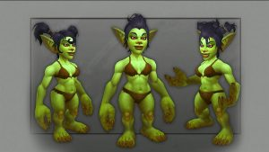 Rise of Azshara Goblin new model