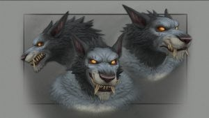 Rise of Azshara Worgen new model