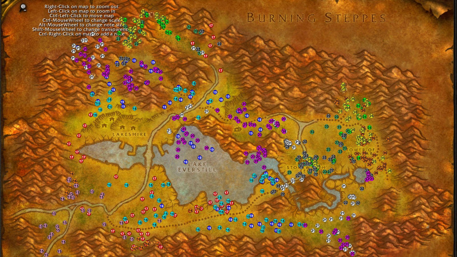 Redridge Mountains WoW classic leveling guide