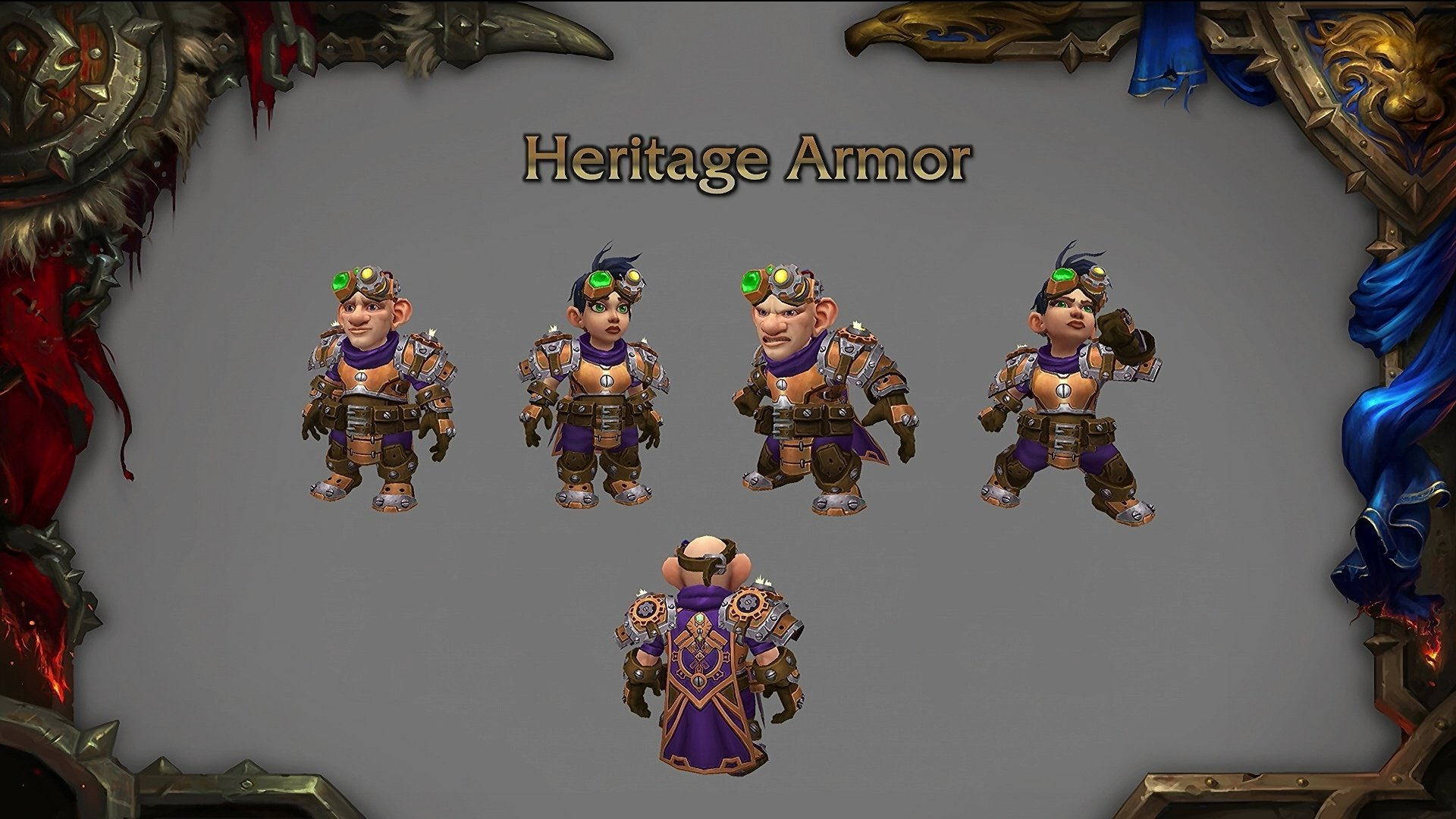 Rise of Azshara Gnome's Heritage Armor