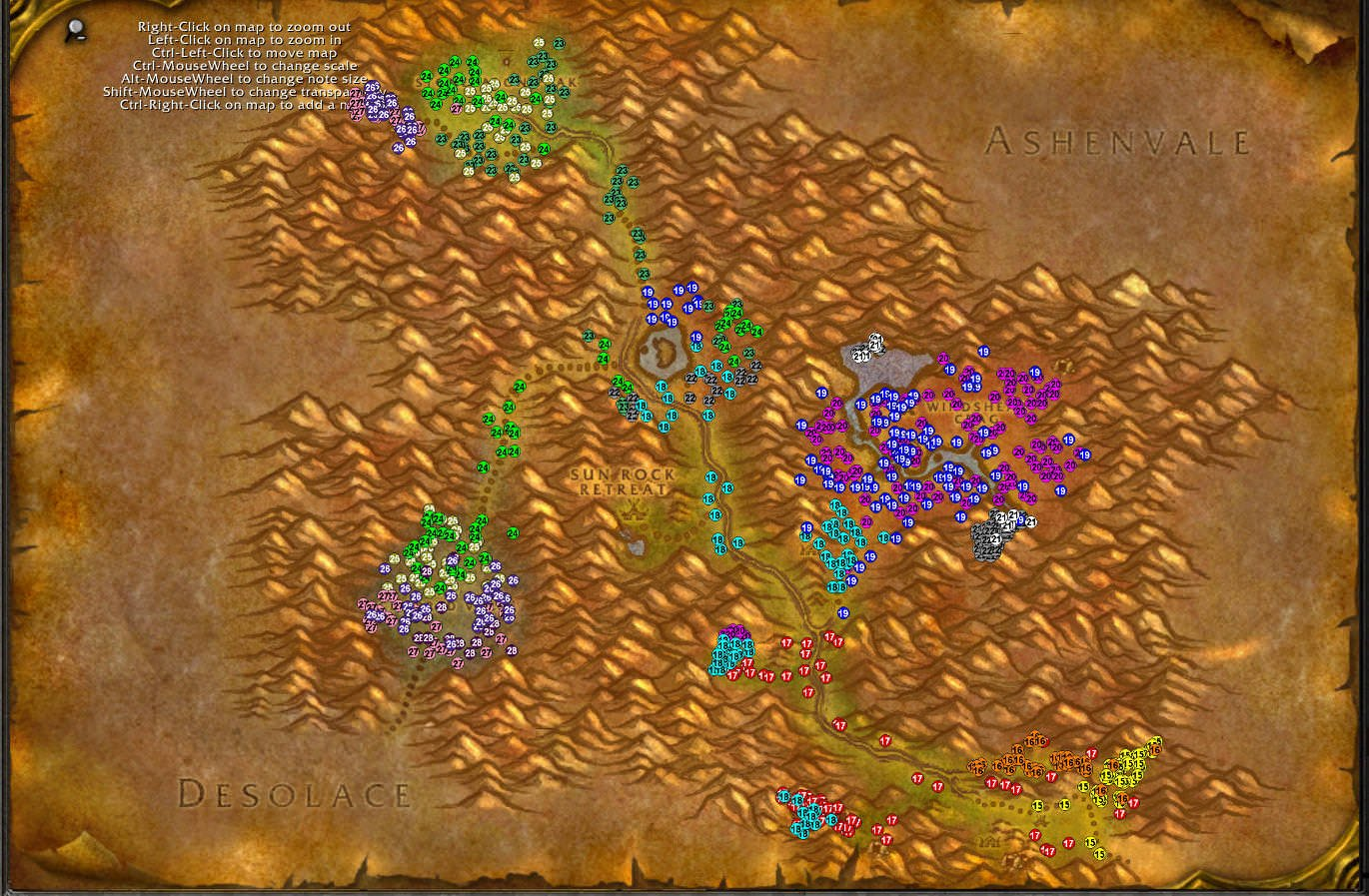 Stonetalon Mountains WoW classic leveling guide