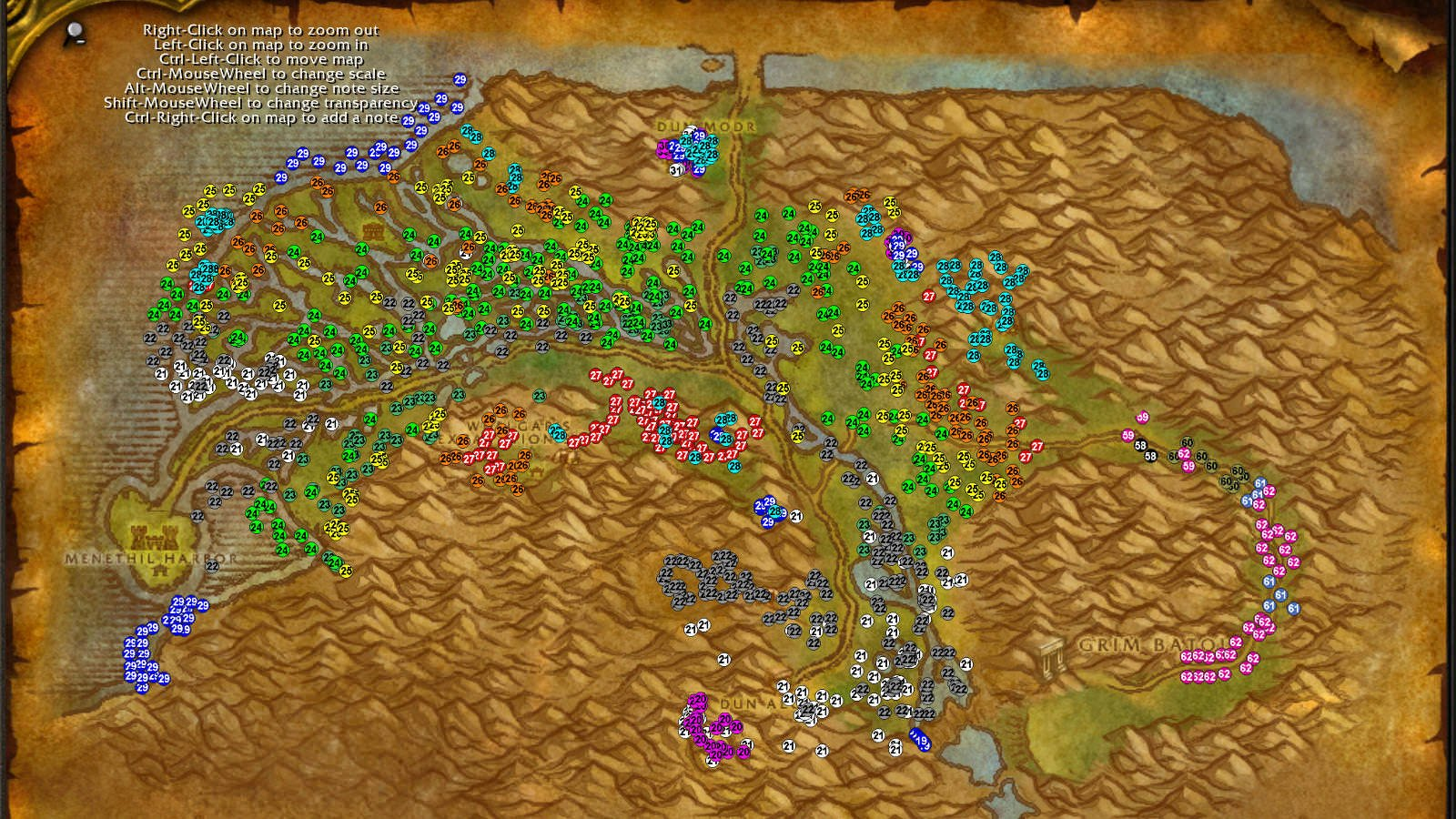 Westlands WoW classic leveling guide