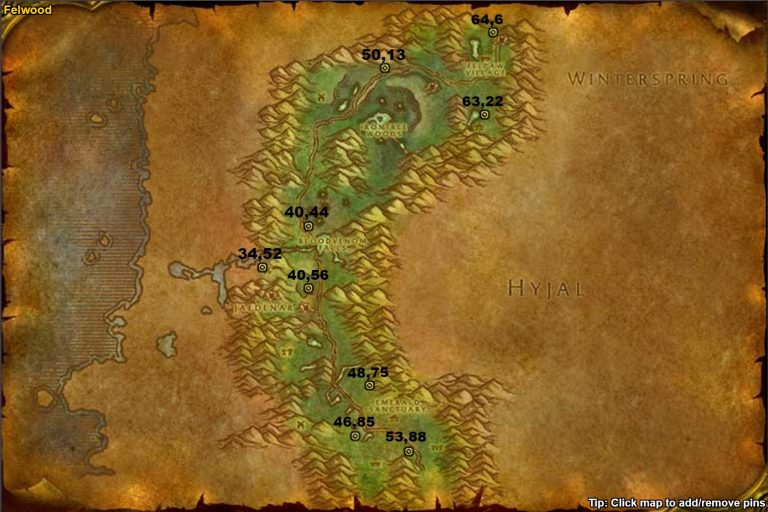 WoW-Classic-Corrupted-Songflower-Locations