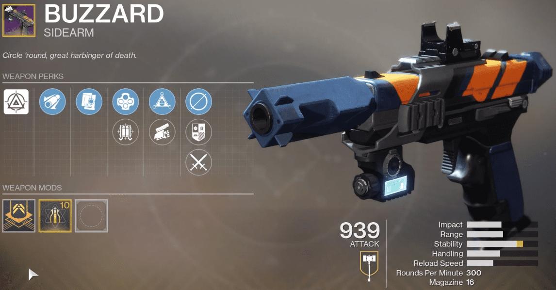 Buzzard Ritual Sidearm
