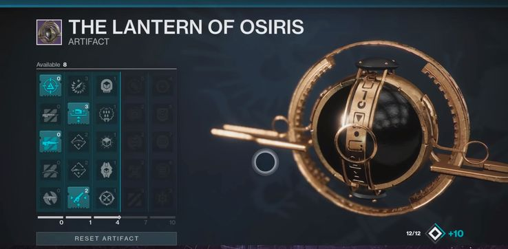 Seasonal Artifact - The Lantern of Osiris