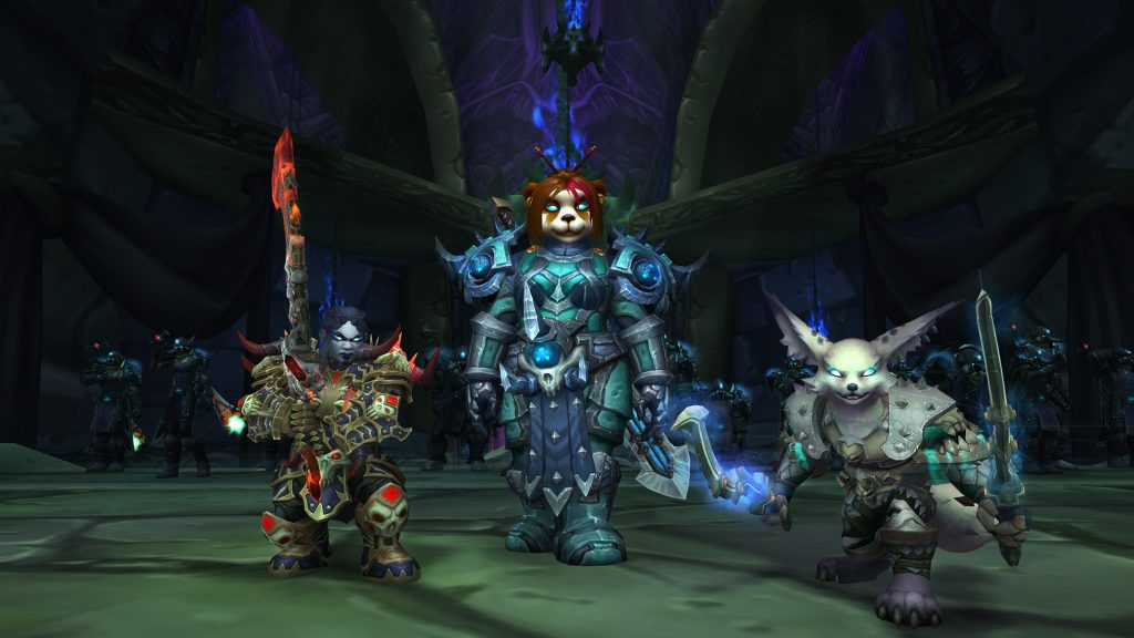 Allied race death knight 8.3