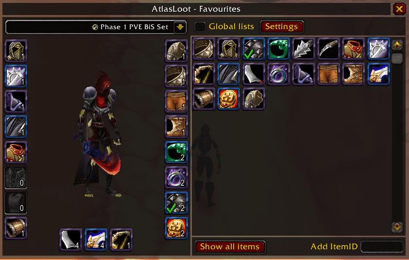 Atlas Loot Classic