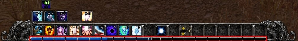 WoW class skills with leveling