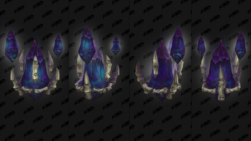 Maldraxxus Covenant Cape 02 - Dropped from Necromantic Anomaly