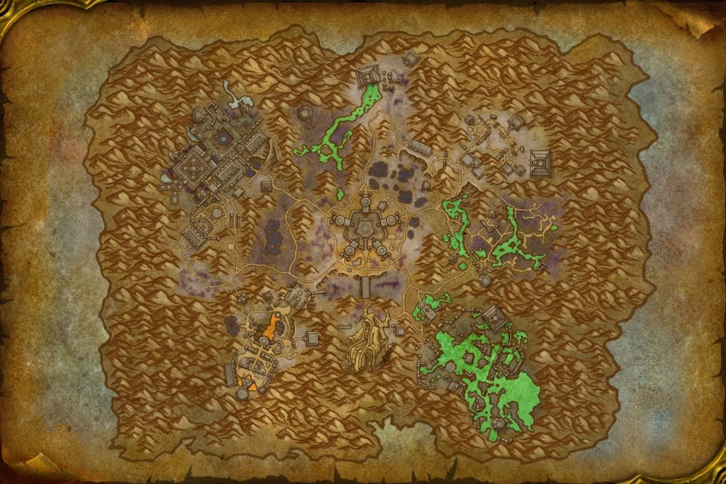 Necrolords maps