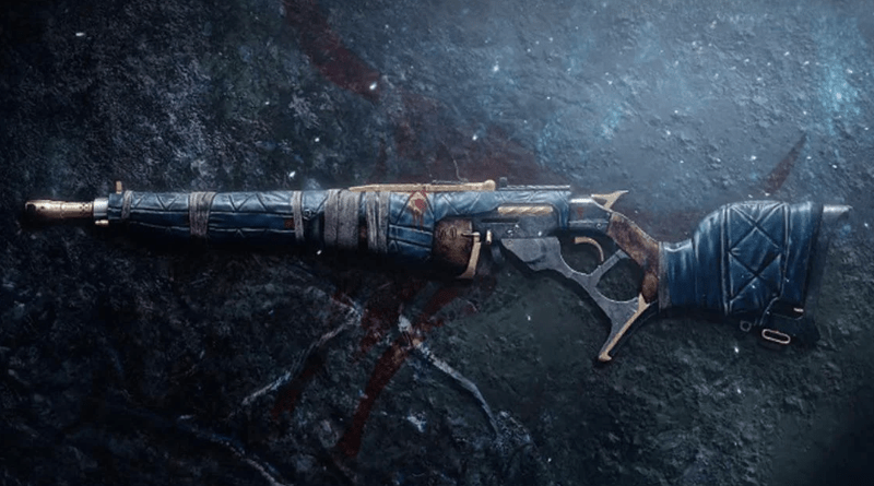 Dead Man's Tale Exotic Scout Rifle