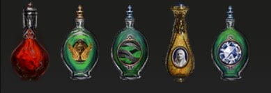 Sulphur Flask Bottled Faith