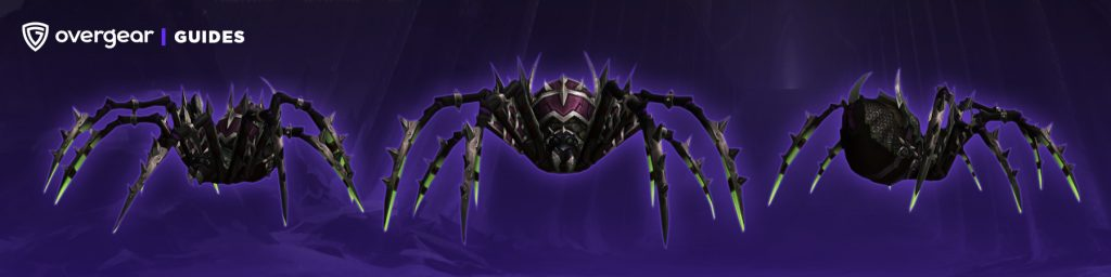 Vicious War Spider horde