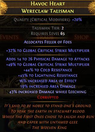Endgame Amulet