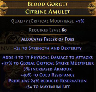 Endgame Amulet 2