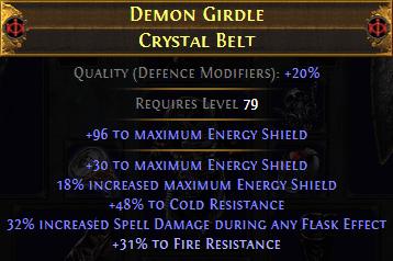endgame belt