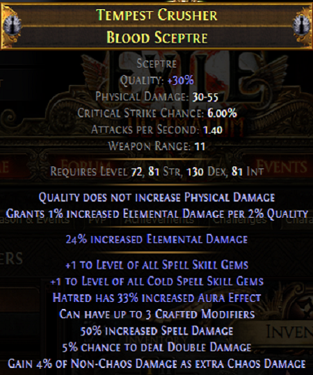 endgame sceptre