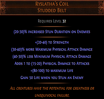 Ryslatha's coil