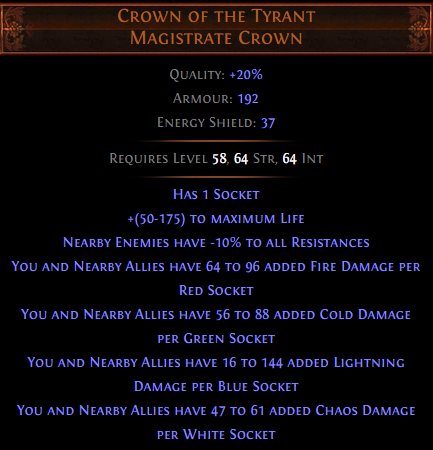 Crown of the Tyrant