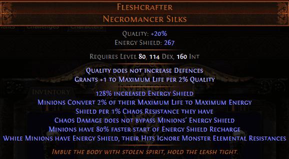 Fleshcrafter Body armour