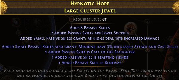 Large Cluster Jewel