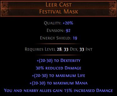 Leer Cast