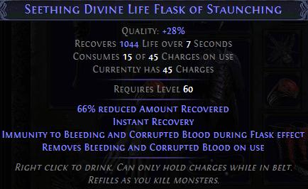 Life flask