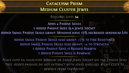 Mediun Cluster Jewel 01