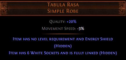 Tabula Rasa