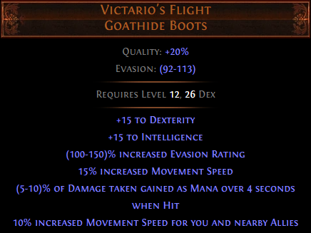 Victario's Flight