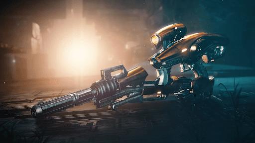 Exotic Vex Mythoclast fusion rifle