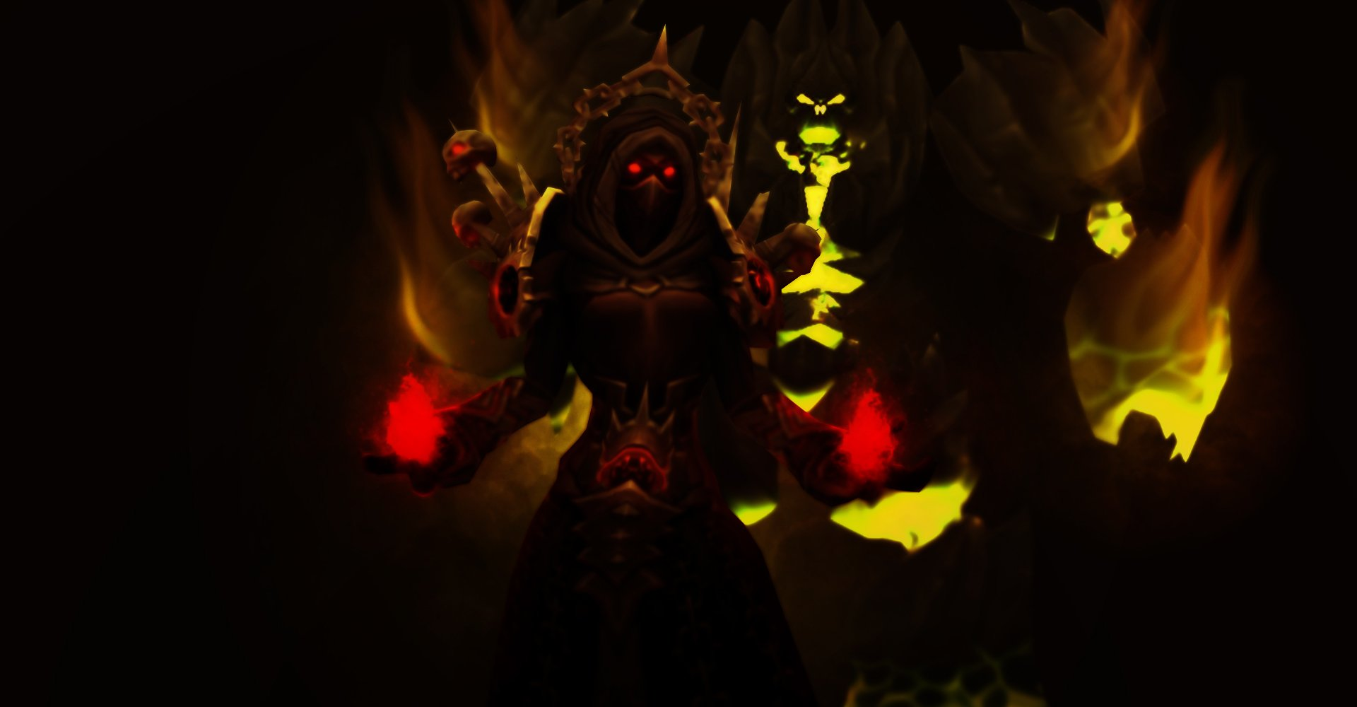 Destruction Warlock PvE Guide (WoW BfA 8 2) - Классы